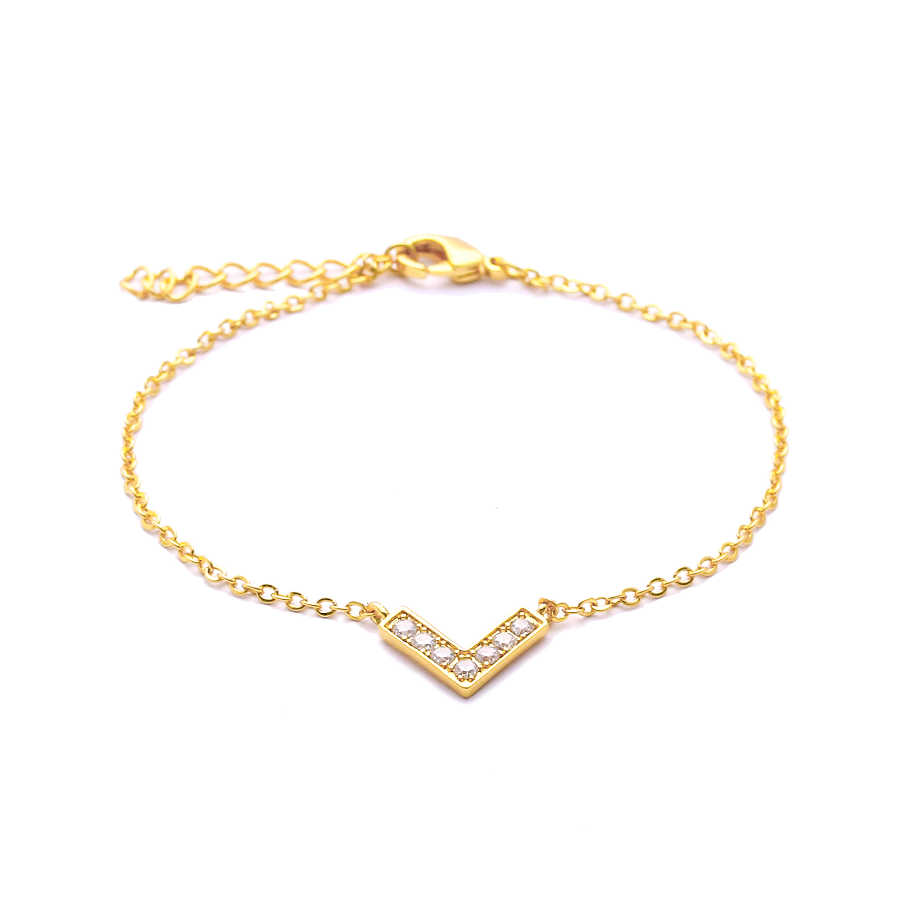 heart hollow exquisite women brass rose gold anklet plated itm