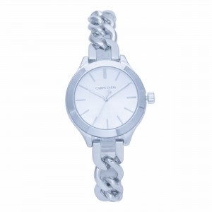 Cadence Silver Carpe Diem Watch