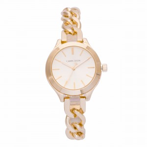 Cadence Gold Carpe Diem Watch