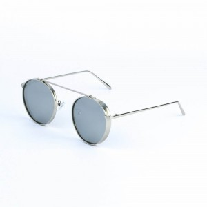 Columbia Round Cool Gray Sunglasses