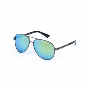 Montana Rimless Ocean Blue Sunglasses