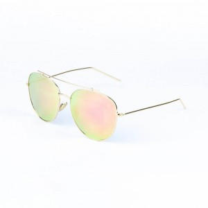 Montana Rimless Pink Ice Sunglasses