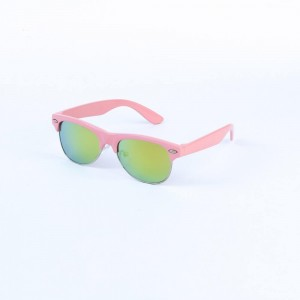 Oxford Club Master in Lime Green Lense with Pink Frame