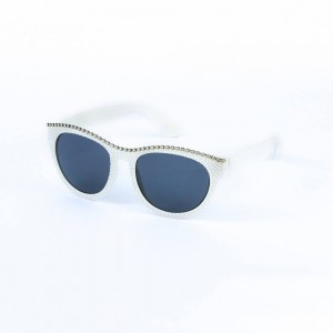 Bronx Retro Cat Eye in Cool Gray