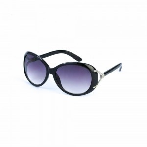 Burke Butterly in Gradient Purple Lense with Black Frame