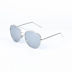 Montana Rimless Cool Gray Sunglasses