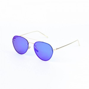 Montana Rimless Purple Sunglasses