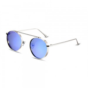 Columbia Round Ocean Blue Sunglasses
