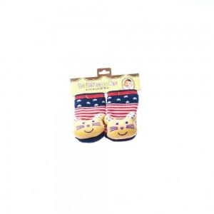 Infant Socks with Fox Head