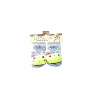 Infant Socks with Blue Ears