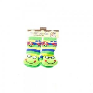 Infant Socks with Frog Design