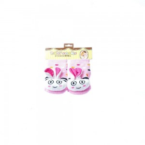 Infant Socks with Bunny Design
