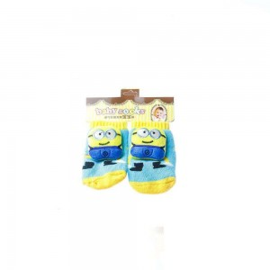 Infant Socks with Minions Design