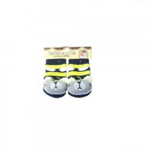 Infant Socks with Grayish Fox Design