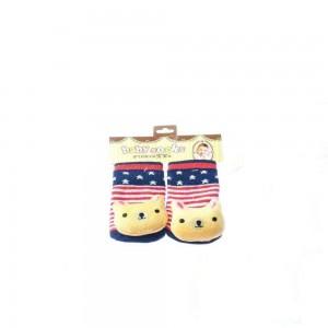 Infant Socks with Fox Design
