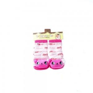 Infant Socks with Bear Design