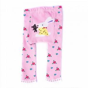 Cotton Pants with Flower Design