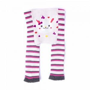 Cotton Pants with Rabbit Design