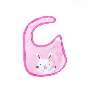 Waterproof Bibs with Bunny Design