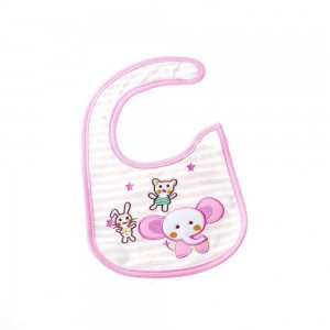 Waterproof Bibs with Elephant Design