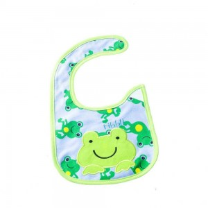 Waterproof Bibs with Frog Design
