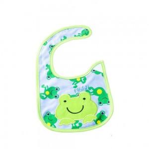 Waterproof Bibs with Frog Design