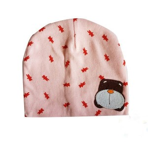 Baby Bonnet with Dog Patch