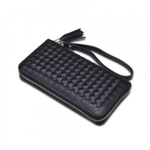 Allegra Wristlet in Black