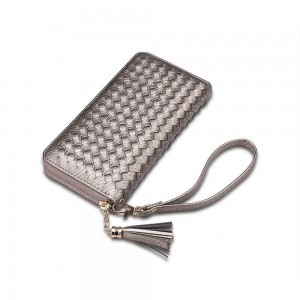 Allegra Wristlet in Gray