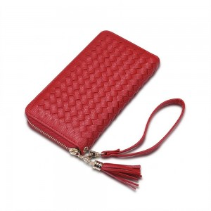 Allegra Wristlet in Red