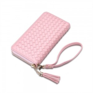 Allegra Wristlet in Pink