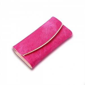 Carolina Clutch in Fuschia Pink