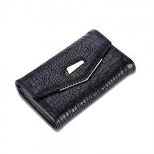 Cecile Envelope Wallet in Black