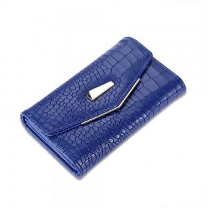 Cecile Envelope Wallet in Blue
