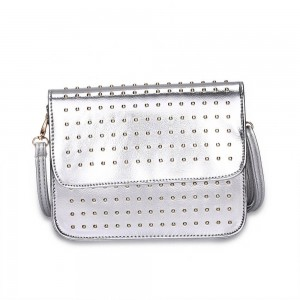 Diane Von Shoulder Bag in Silver