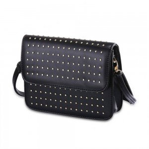 Diane Von Shoulder Bag in Black