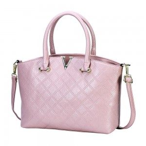 Gianni Satchel Bag in Blush