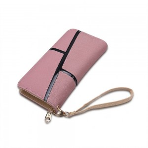 Mary Kate Wristlet in Blush