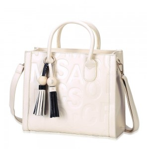 Monique Satchel Bag in White