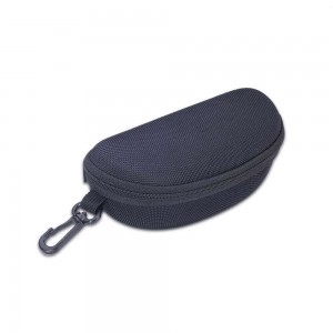 Vizard Halfmoon Sunglass Case in Black