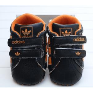 Baby Soccer Prewalker Shoes (Orange)