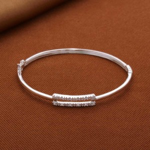 Moira Stoned Rectangle 925 Silver Bangle