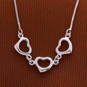 Hertzel Hearts Necklace