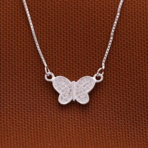 925 Sterling Silver Kimberly Lil Butterfly Necklace