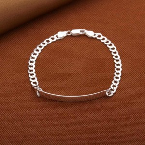 Julius 925 Silver Bracelet for Men 4mm 8 inches