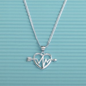 Harukos Heartbeat Necklace by Argento