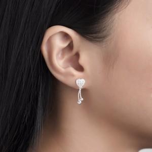 Jonah Heart Earrings by Argento