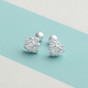 Ritchel Stoned Heart Earrings by Argento