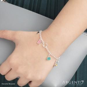 Hershel 925 Silver Bracelet by Argento