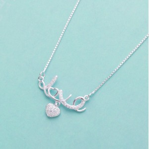 Cursed Love 925 Silver Necklace 4g